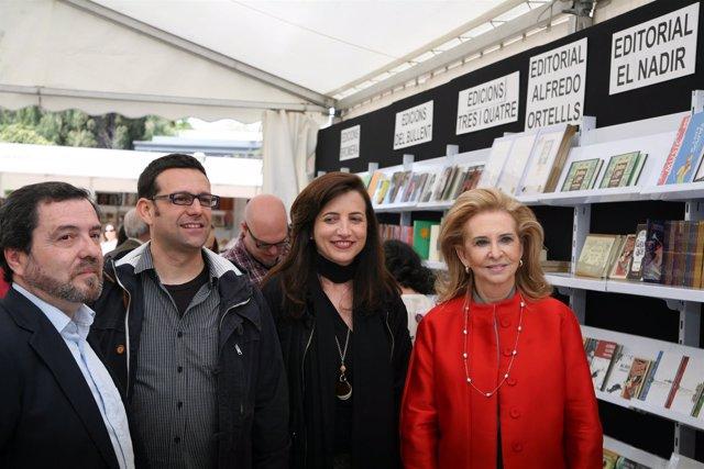 Inauguración de la 49 edición de la Fira del Llibre de València.