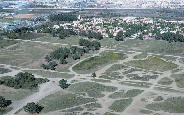 Vista aérea de Guadalmar y Arraijanal