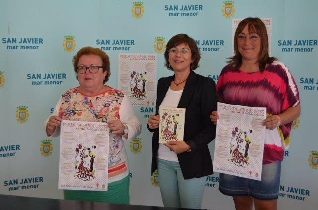 Presentación Feria de Abril de Santiago de la Ribera 2014