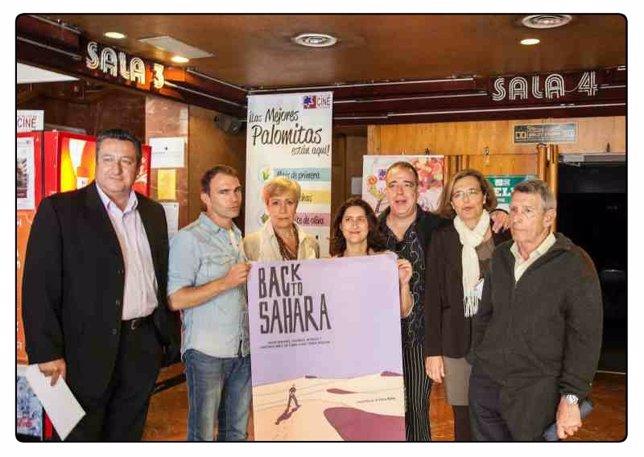 Presentación de 'Back to Sáhara' en Sevilla