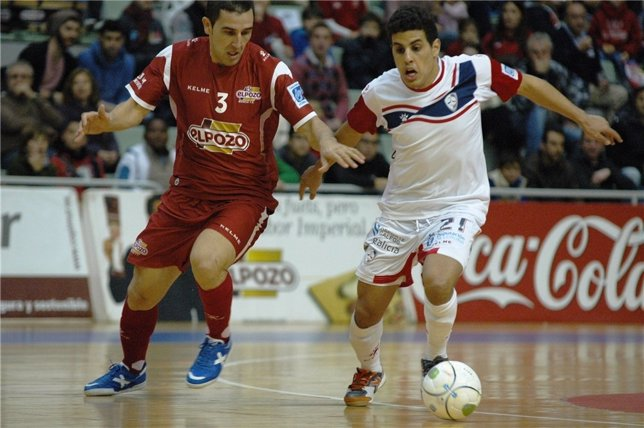 Partido ElPozo Murcia-Santiago Futsal