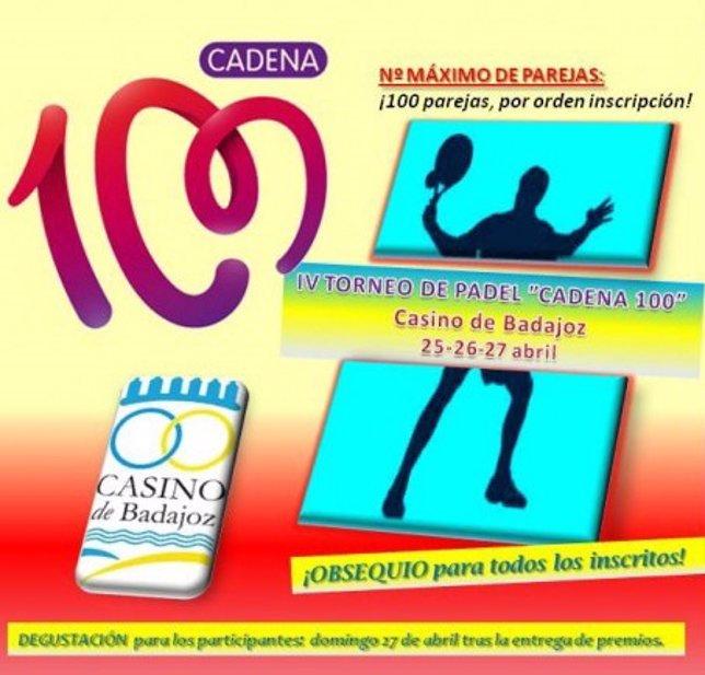 IV Torneo de Pádel Cadena 100