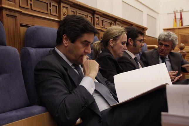 José Ignacio Echániz pleno