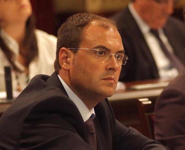 Diputado del PP balear Alejandro Sanz