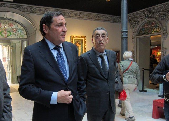El consejero Sáez Aguado en la Casa Lis de Salamanca
