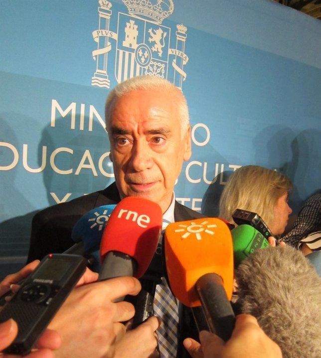 El consejero de Educación, Cultura y Deportes, Luciano Alonso