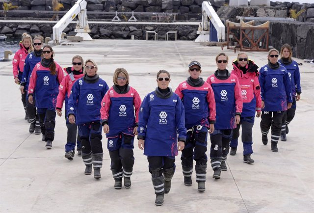 El equipo Team SCA