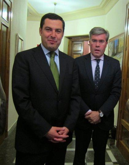 """Moreno (PP-A) defiende ayuda del Gobierno a Andalucía e insta a Junta a resolver su """"incapacidad manifiesta"""" en gestión"""