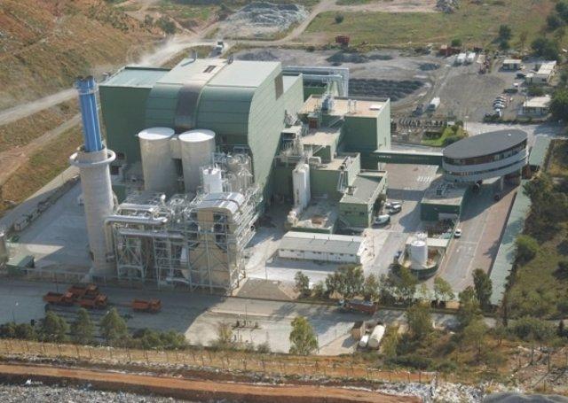 Planta de Valorización de residuos de Urbaser (ACS) en Mallorca