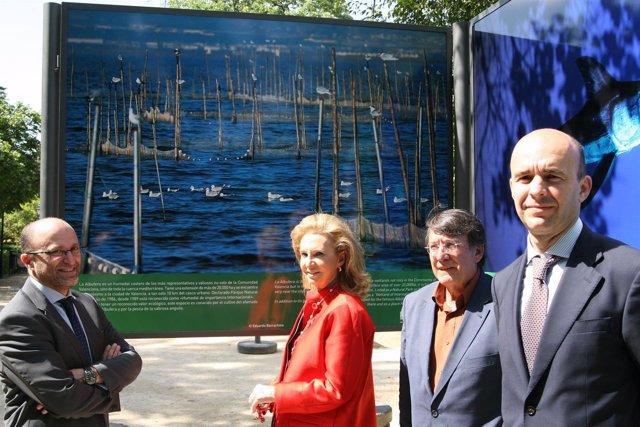 Inauguración de la muestra de lugares declarados Patrimonio Natural de la UNESCO