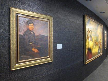 La Torre Iberdrola acoge, por primera vez, una exposición con más de 60 obras de su patrimonio artístico