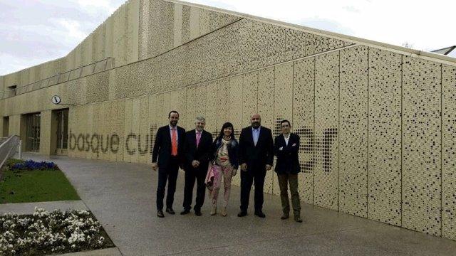 Visita de Jaime Martínez a San Sebastián