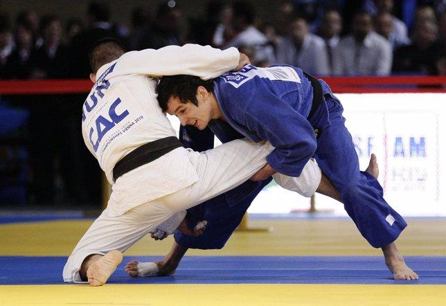 El judoca español Sugoi Uriarte