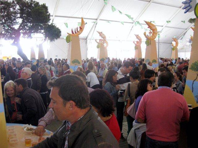 Feria de la Gamba de Punta Umbría.