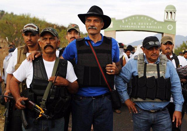 José Manuel Mireles, uno de los líderes de las autodefensas de Michoacán