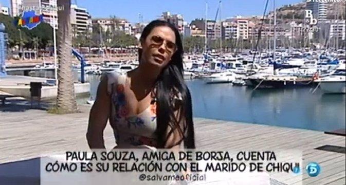 Paula Souza afirma que Borja Navarro ha sido infiel a Chiqui