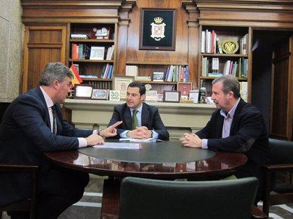 """Moreno destaca la """"deuda pendiente, ya enorme y dilatada por mucho años"""", de la Junta con la provincia"""