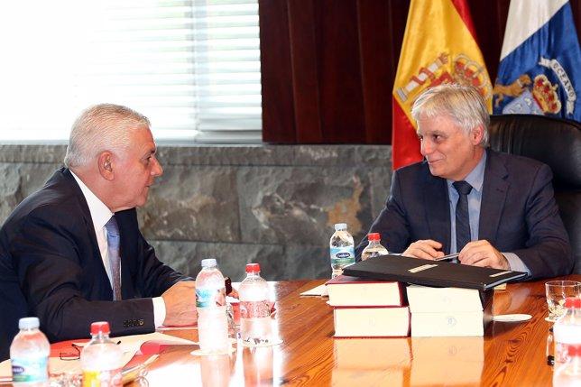 Pérez, en el Consejo de Gobierno