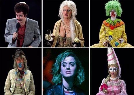 LAS MÚLTIPLES PERSONALIDADES DE Katy Perry EN EL VIDEOCLIP BIRTHDAY