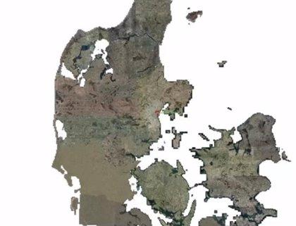 La agencia cartográfica danesa recrea el país a tamaño real en Minecraft