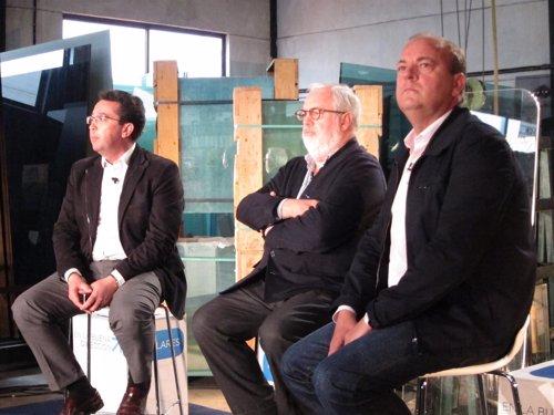 Monago, Arias Cañete Y Fenando Manzano En Un Acto Del PP En Cáceres