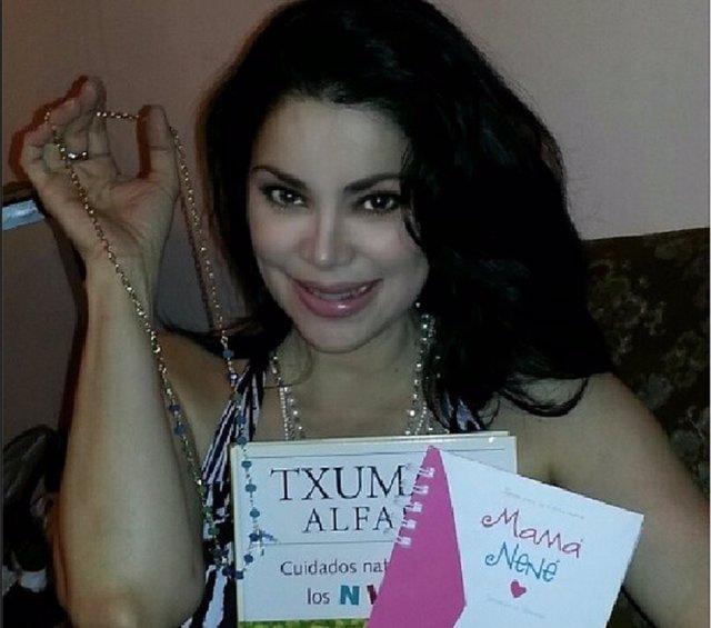 Astrid Carolina Herrera espera una niña