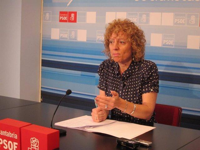 Eva Díaz Tezanos, secretaria general PSC-PSOE