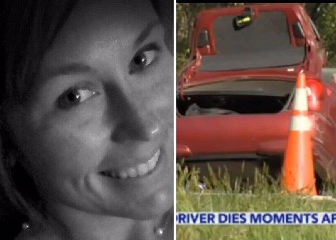Courtney Sanford, subió una foto a Facebook y segundos después murió