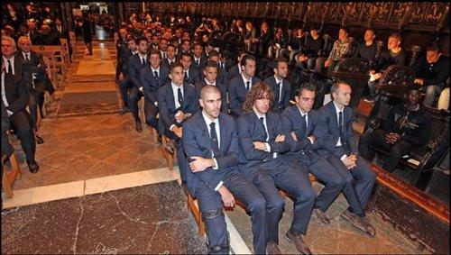 Funeral por Tito Vilanova