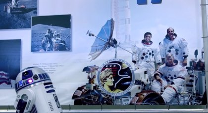 Vídeo  R2-D2 ya está en la Estación Espacial Internacional para celebrar el Star Wars Day