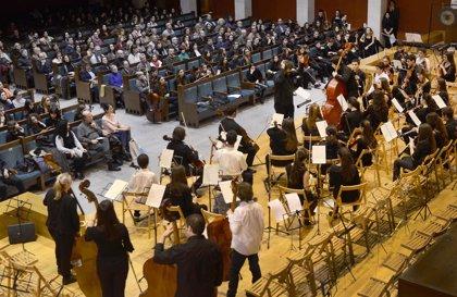 CANTABRIA.-Santander.- Un dúo de violín y piano clausura hoy la actividades culturales del 'Ataúlfo Argenta' de abril