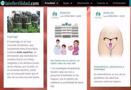 'LaInfertilidad.com' pasa a ser red social para seguir ofreciendo las ventajas y beneficios de la plataforma