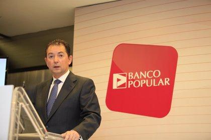 """Economía.- Popular confía en que la globalidad de la banca española supere los test de estrés """"sin ninguna dificultad"""""""