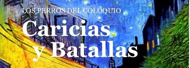 Portada del libro 'Caricias y Batallas'