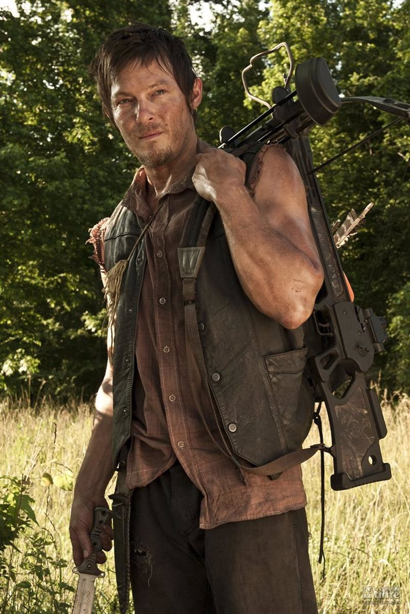 """Norman Reedus, Daryl en The Walking Dead: """"La quinta temporada va a ser una locura"""""""