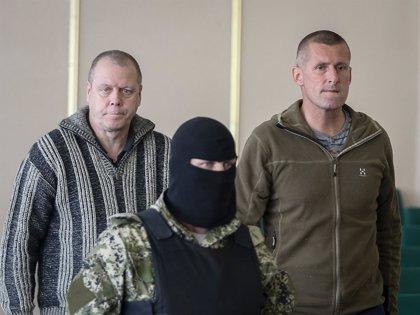 Liberados los observadores internacionales retenidos en Ucrania