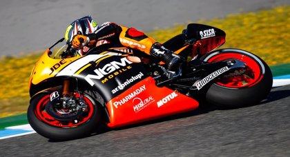 Ausencia de incidentes graves en la primera noche del GP de Jerez