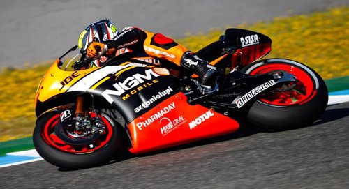 Aleix Espargaró en el GP España