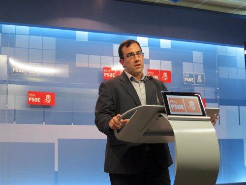 Javier Remírez, nuevo portavoz de la Ejecutiva del PSN.