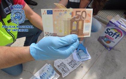 Detenido un marroquí acusado de importar billetes falsos