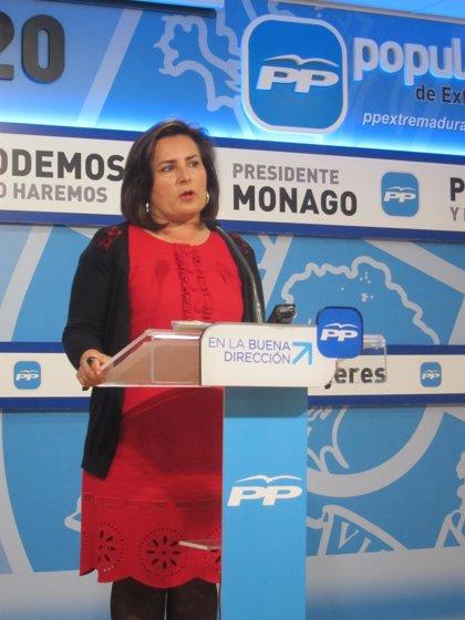"""El PP defiende que Monago llega al Debate del Estado de la Región con el paro """"bajando"""" y con las cuentas """"saneadas"""""""