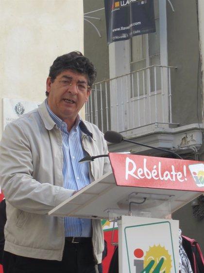 Valderas centrará su agenda de campaña en Huelva aunque también se desplazará a otras provincias
