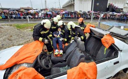 Los bomberos realizaron el 28% de los servicios en 2013 fuera del ámbito municipal