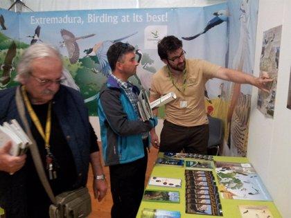 Birding Extremadura se promociona en la feria más importante de Italia