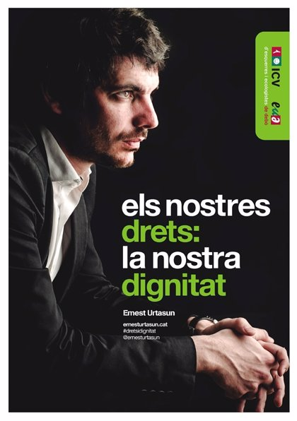 ICV-EUiA presenta como lema de campaña 'Nuestros derechos; nuestra dignidad'