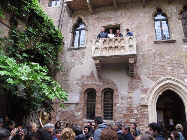 Balcón de Julieta.