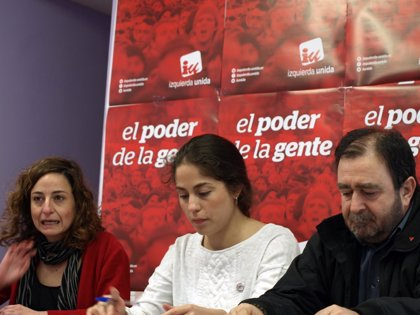 """IU defiende una candidatura en Europa """"para devolver el poder a la gente"""""""