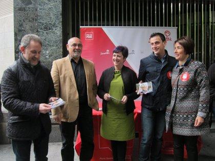 """PSE no cree """"justo"""" que PNV se arrogue haber """"limpiado la imagen en la UE de Euskadi"""", que """"nunca ha estado sucia"""""""