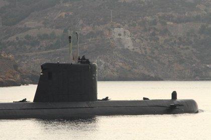 Llega un nuevo submarino nuclear a la base naval de Gibraltar