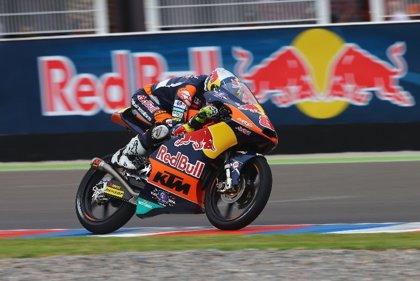 Miller logra su tercera 'pole' del año en Moto3
